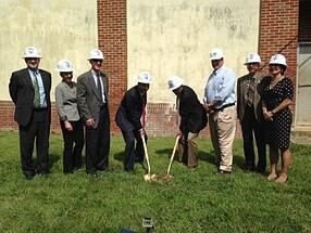 City of Annapolis Water Design Build Groundbreaking