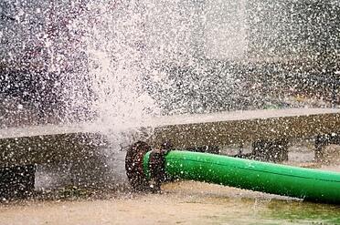 water main burst