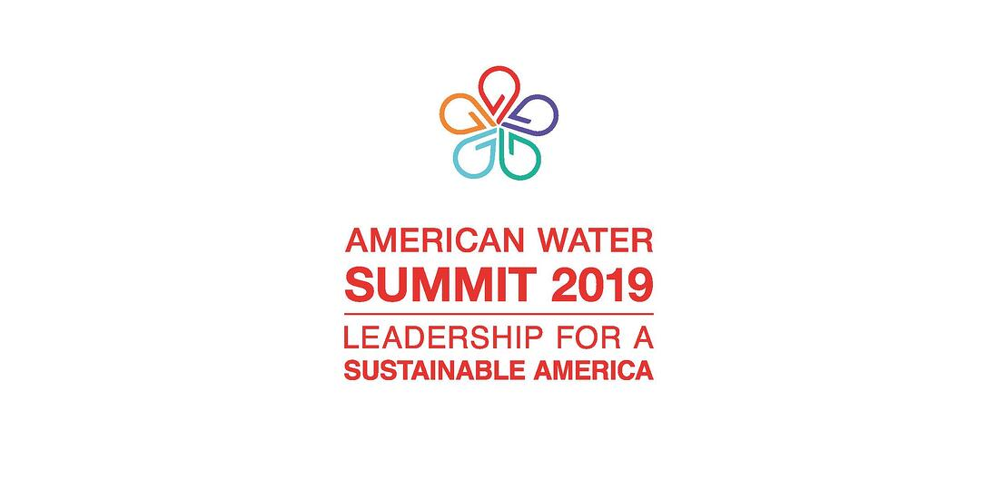 American Water Summit 2019 red logo