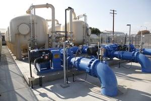 Montevina WTP pumps